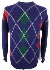 Wool Argyle, Diamond Long Jumpers & Cardigans for Men