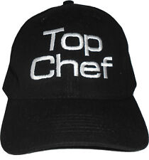 Top Chef Black Baseball Cap Embroidered Quality Hat