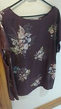 Marks and spencer per una ladies floral satin top
