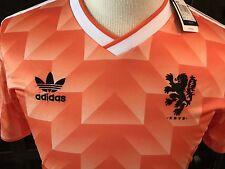 1990 Holland World Cup Home Retro Jersey Shirt Van Basten 12 XL Athletic Fit