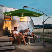 LED Solar Beleuchtung für 3M Sonnenschirm Ampelschirm Garten Schirm 36 LEDs