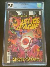 Justice League #29 CGC 9.8-NM-1st Print-James Tynion IV-Javi Fernandez-DC Comics