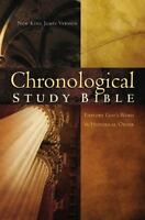 The Chronological Study Bible Explore God's Word in Historical Order BRAND NEW!!