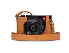 Leica Tragriemen Q2 - Leder braun brown - Auch für Leica M, Q, CL, TL etc...