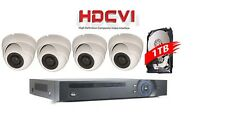 HD-CVI 1080p Security Camera System Kit DVR Hybrid + 4x 2.4MP Motorized Zoom VF