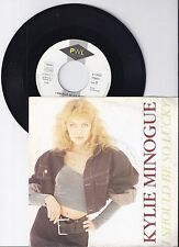 "Kylie Minogue, I should be so lucky, VG/VG+,  7"" Single 0989-7"