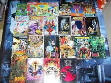 Ashcan & Minicomic Library - Set of 23 - Marvel DC Wizard Spider-Man X-Men FF