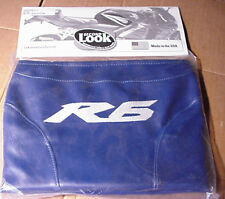 2005 YAMAHA YZF R6 TANK BRA Blue with White R6 Logo SECOND LOOK SPORTBIKE COVERS