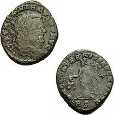 Maximianus Herculius Follis Rom 302/3 SAC MON VRB AVGG Moneta Waage RIC 105 b