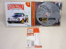 Dreamcast SEGA RALLY 2 with SPINE CARD * SEGA Import JAPAN Video Game dc