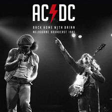"AC/DC : Back Home With Brian: Melbourne Broadcast 1981 VINYL 12"" Album 2 discs"