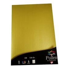 25 Blatt A4 Gold Farbe 120g goldenes Papier Clairefontaine Einladungen