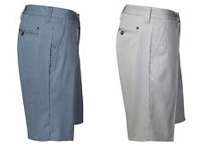 "Mid 7 to 13"" Inseam Check Casual Men's Shorts"