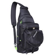 Fly Fishing Sling bag Crossbody Sling Tackle Storage Bag Gear Shoulder Backpack