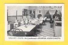 Spearfish,SD South Dakota, Valley Cafe, interior  Stools, Tables,  Booths
