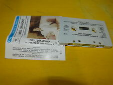 NEIL DIAMOND - K7 audio / Audio tape !!! 12 GREATEST HITS VOL 2 !!!