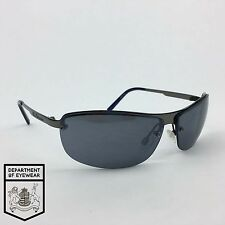 BEN SHERMAN eyeglass METAL / CLEAR frame SEMI-RIMLESS Authentic. MOD:0237