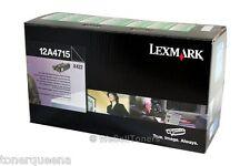 New ! Genuine Lexmark X422  High Yield Toner Cartridge 12A3715 12A3-715