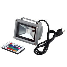 Remote Control 16 RGB 10W 85~265V LED Flood Light Lamp Floodlight Waterproof L3