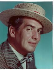 Victor Mature Actor Photograph 10 x 8 Excellent Condition #3