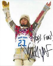 KAITLYN FARRINGTON  signed 8 x 10 photo USA Snowboarding Halfpipe Sochi Olympics