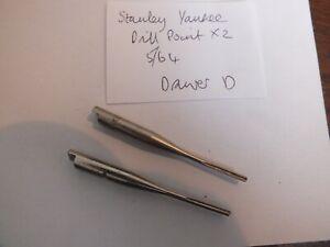Stanley Yankee Drill Points Sizes ,    5/64 H  x 2    -  5.5 mm shank