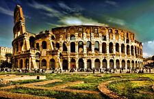 Stampa incorniciata-IL COLOSSEO ROMA ITALIA (PICTURE POSTER Gladiatori Romani ART)