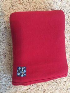 Baby Red KicKee Pants Blanket