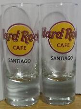 lot 2 shots Hard Rock cafe  Santiago de Chile clasic logo