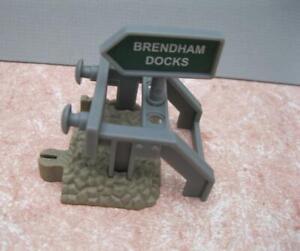 BUFFER END track Brendan Docks THOMAS THE TRAIN TRACKMASTER TIDMOUTH SHEDS/DOCKS