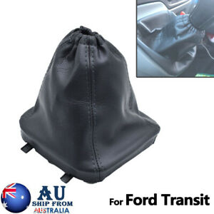 For Ford Transit 06-14 Black Car Gear Shift Knob Shifter Gaiter Boot Cover Case