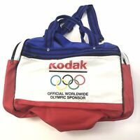 Kodak Olympic Bag Official Red White Blue Adjustable Straps (15x9.5x9) #849