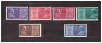 VATICANO 1954 MNH Anno Mariano 6v   s13111