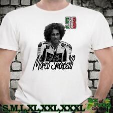 Icono Retro Marco Simoncelli Moto GP Racing Leyenda T shirt regalo no oficial