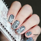 Spring Flower Series Nail Art Water Decals Transfer Stickers Tips Decoration DIY