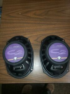 JL Audio C2-690TX 3-Way Coaxial Speaker System used 6 x 9