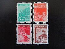 Albania #548-51 Mint Hinged (F7C6) I Combine Shipping!