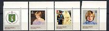 British Virgin Islands 1982 SG#488-491 Princess Of Wales MNH Set #A62833