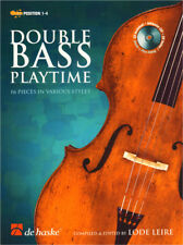 Double Bass Playtime Play Time Noten für Kontrabass mit Play-Along CD