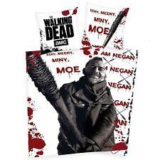 Officiel The Walking Dead Negan Set Housse de Couette Simple Coton Européen