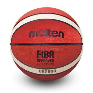 Molten BG2000 FIBA Approved Premium Rubber Outdoor Basketball Size 5-7