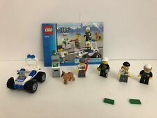 LEGO City 7279 Police Minifigure Collection Set w/ Manual&Figs (No Box)