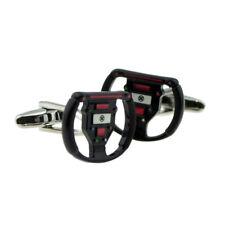 Gamers Steering Wheel Controller Style COMPUTER GEEK CUFFLINKS PRESENT GIFT BOX