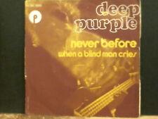 """Deep Purple nunca antes de 7"""" solo 1972 francés presionando"""