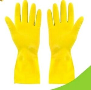 Rubber Gloves Ladies Size Small Cleaning Food Garden Gloves for Home Garden Hand