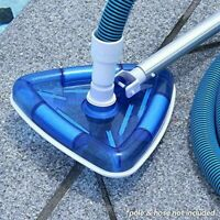 Swimming Pool Tool Suction Triangular Vacuum Head Brush Cleaner Above Ground US