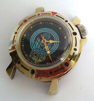Vintage Soviet Watch VOSTOK KOMANDIRSKIE Junior Amfibija USSR Mechanical
