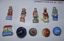 NORDIA série de 10 fèves les maisons du monde ND10 1998