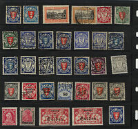 Danzig   nice lot of mint and used  stamps            MS0219