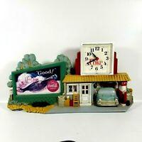 Vintage!! Coca-Cola Coke Clock Sign * Gas Station * Burwood 3130 1990